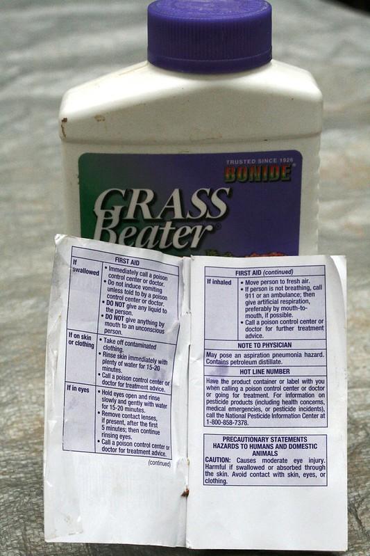 label of fertilizer